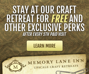 Memory Lane Inn scrapbook & craft retreats